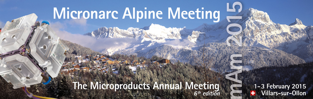 Micronarc Alpine Meeting (mAm 2015) – The Microproducts Annual Meeting, 6th edition